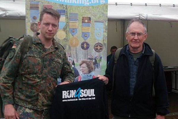 Run4Soul war zum 46. 2-Tagesmarsch in Belgien